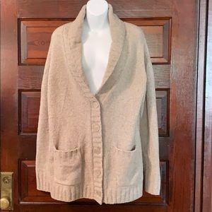 Merona Soft & Warm Oversized Button Collar Sweater